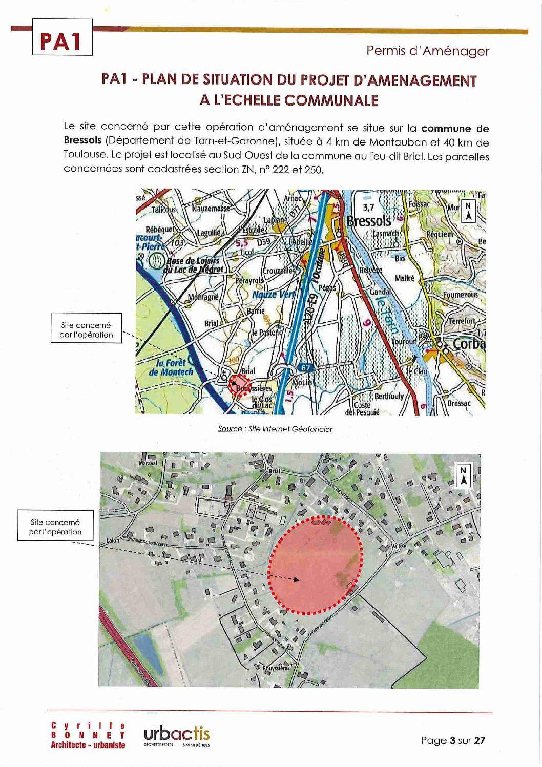 Nouveau terrain à bâtir disponible à Montbartier 82, viabilisé par Florès Aménagement